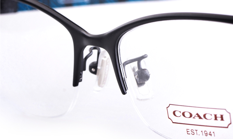 928630637c1 Coach Semi Rimless Eyeglasses
