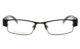 Dolce Luxy 6618 Stainless Steel Full Rim Unisex Optical Glasses