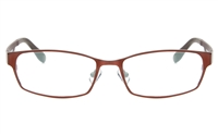 ZOLO Z6615 Stainless Steel/TR90 Unisex Full Rim Square Optical Glasses