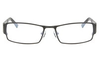 ZOLO Z6618 Stainless Steel/TR90 Male Full Rim Square Optical Glasses