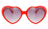 GENTRY YS9000  Unisex Full Rim Heart-shaped Sunglasses